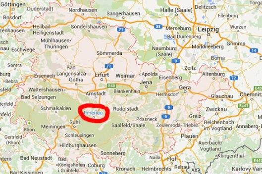Blind Travelling in Thüringen