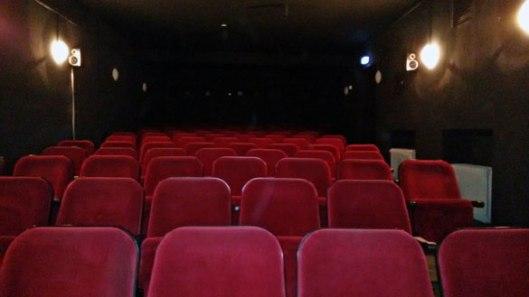 Mädchenkino im Saal des ehemaligen Klick-Filmtheaters