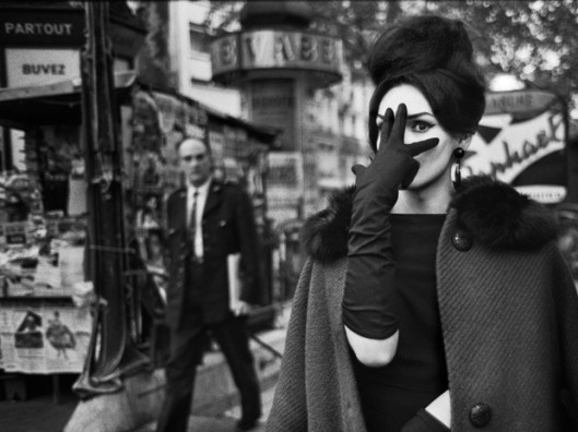 Christer Strömholm. Nana, Place Blanche, Paris, 1961 / Ⓒ Strömholm Estate 2014
