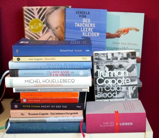 Lesen 2016 - Diese Bücher habe ich dieses Jahr gelesen